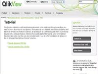 QlikView tutorial for developers